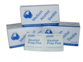 Alcohol Pre-Injection Swab